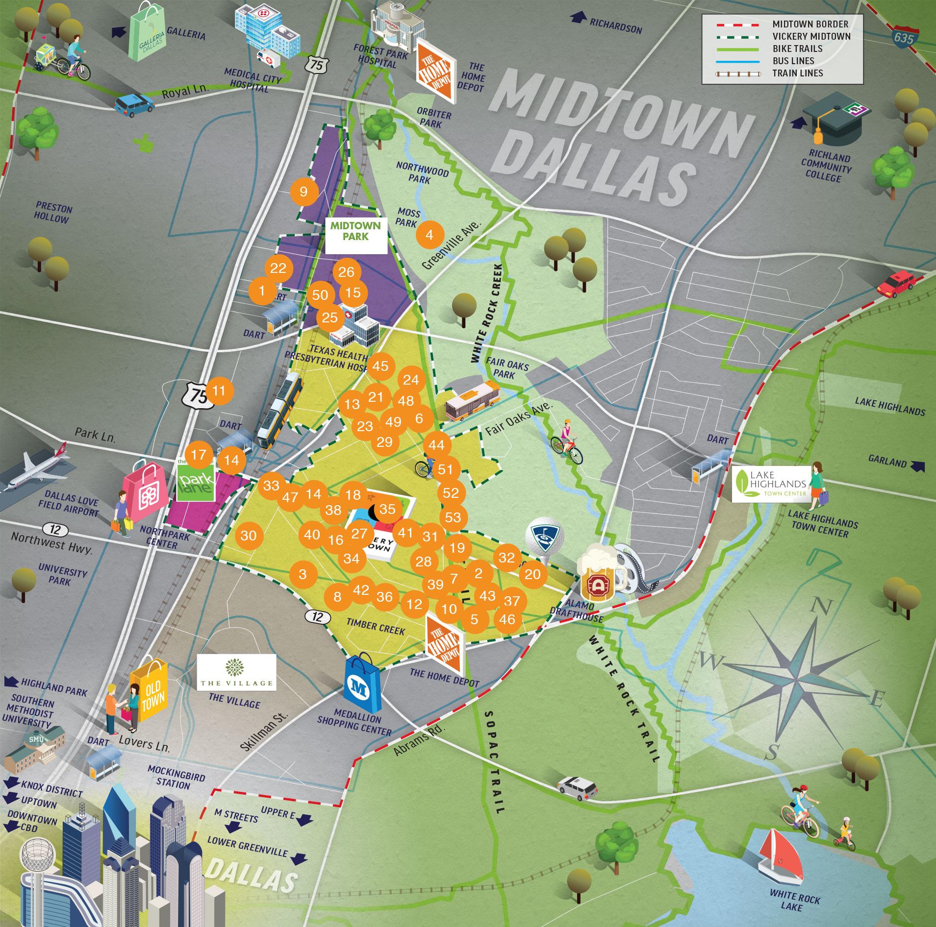 Cross Creek Apartments Dallas: Vickery Public Improvement District